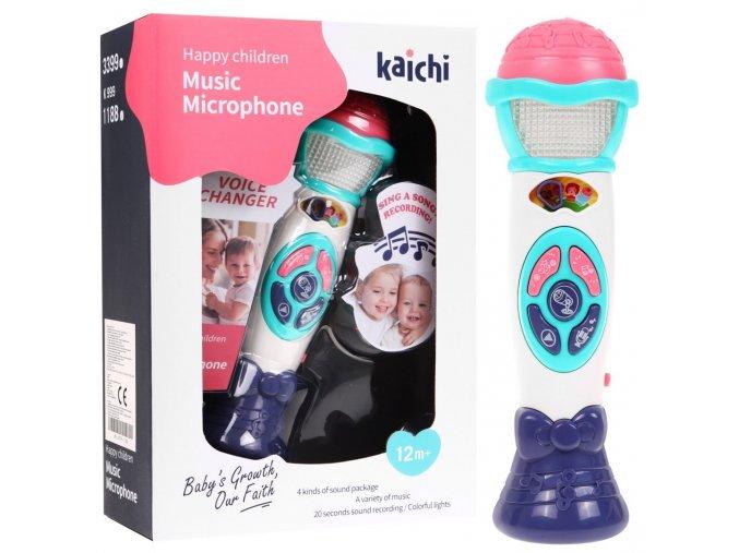 detsky mikrofon s nahravanim Kaichi