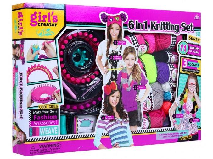 detska sada na pleteni Knitting set