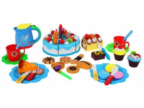 Ecotoys narodeninová sada Torta modrá