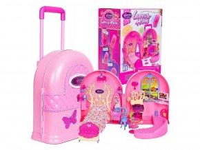 Doris prenosný domček pre bábiky s batôžkom Carry Home