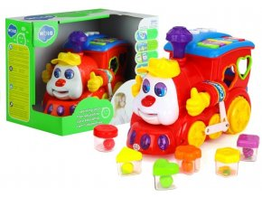 Huile Toys multifunkcni lokomotiva Happy Loco