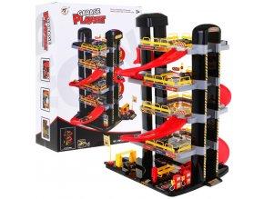 Majlo Toys XXL garaz s pohyblivym vytahem Big Garage