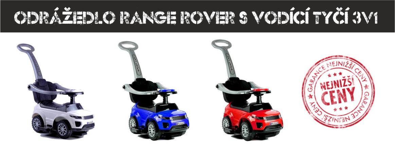 Odrážedla Range Rover
