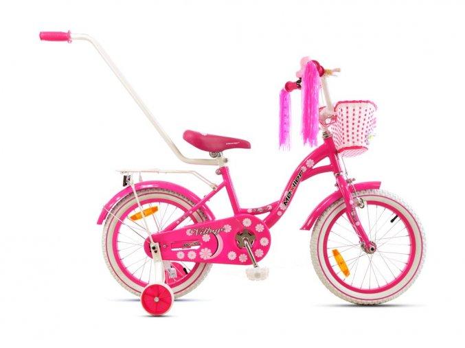 Mexller detsko kolo s vodici tyci 16 Village ruzova