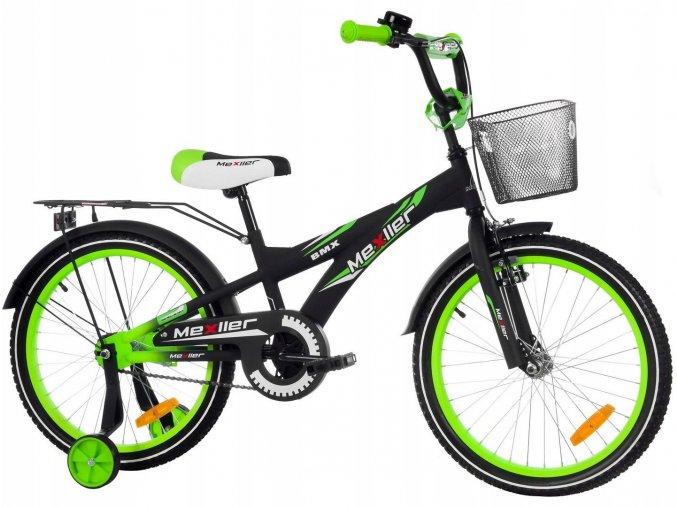 Mexller chlapecke kolo cerno zelene 20