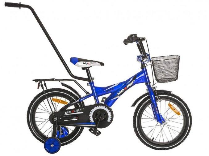 Mexller detsko kolo s vodici tyci 16 modre