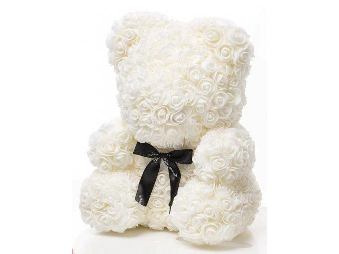 Rose Bear bily 40 cm – 2