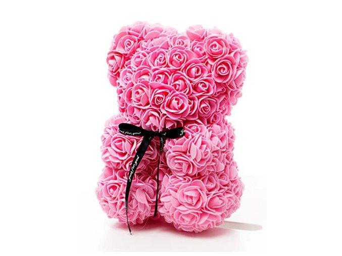 Rose Bear ruzovy 25 cm