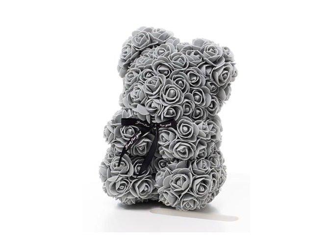 Rose Bear sedy 25 cm