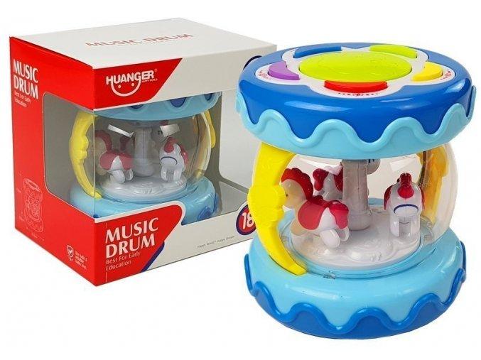Haunger bubinek Music Drum modry
