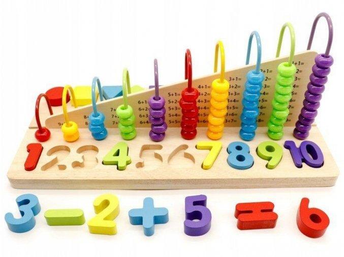Edukacni hracka Ecotoys pocitadlo
