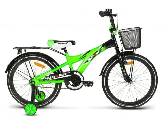 Mexller detske kolo s vodici tyci 20 zelene lesk
