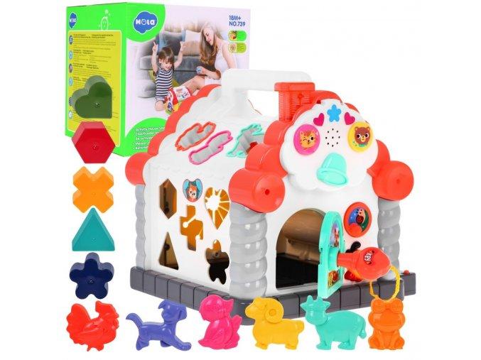 Huile Toys Multifunkcni vkladacka Domecek