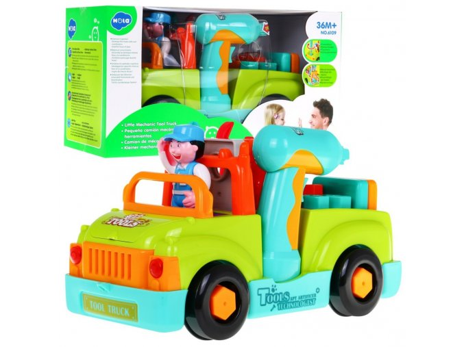 Huile Toys edukacni auticko Tool Truck