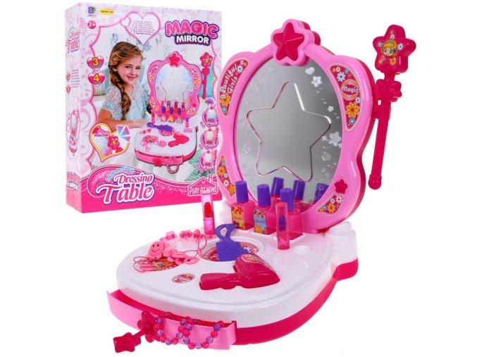 prenosny toaletni stolecek Magic Mirror