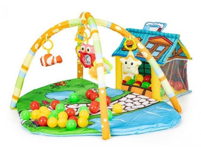 Ecotoys hrací deka Domecek