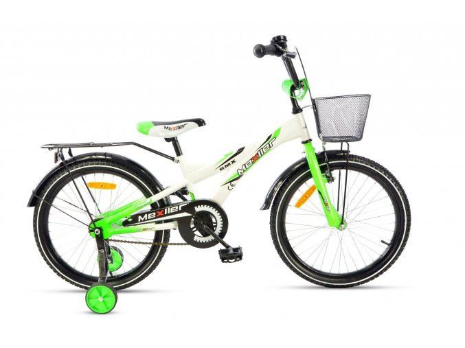 Mexller detske kolo 20 BMX zeleno bily lesk