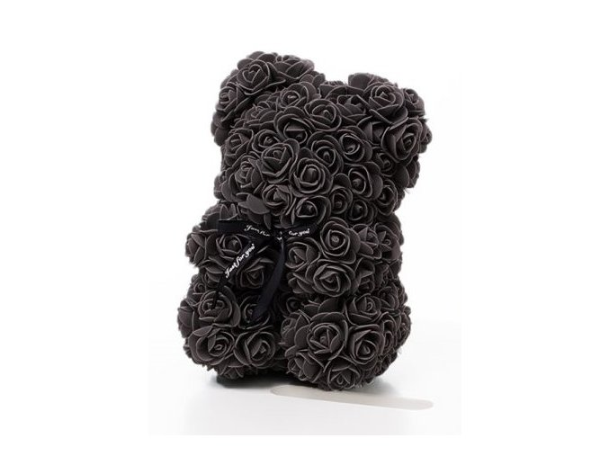 medved z ruzi 25 cm cerny