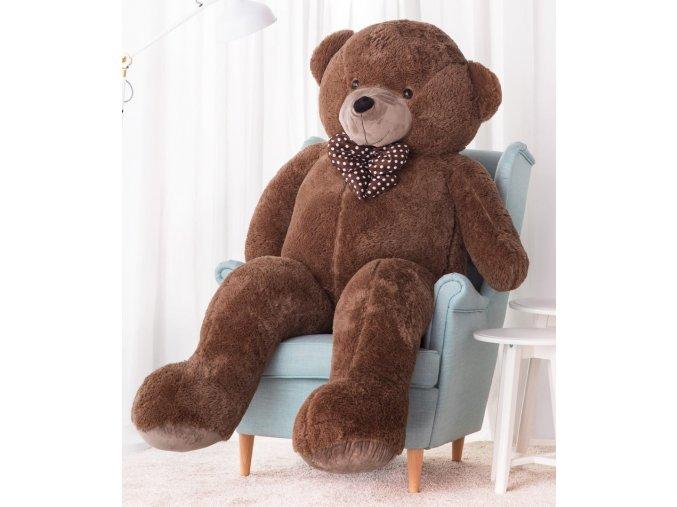 plysovy medved Hugo hnedy 190 cm