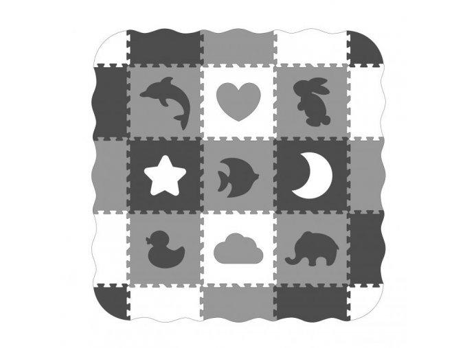 Ecotoys hraci deka Happy Grey
