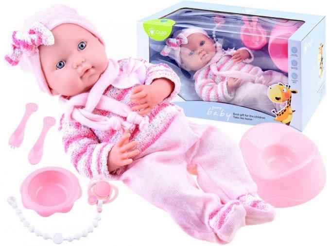 panenka Pure Baby ruzova