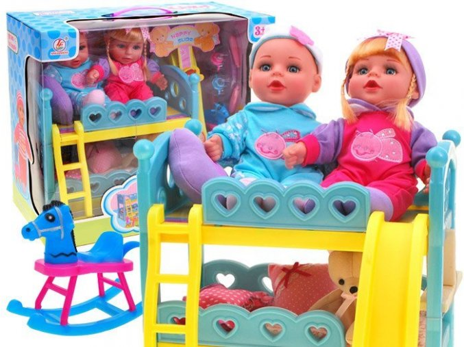 panenky s detskou postylkou