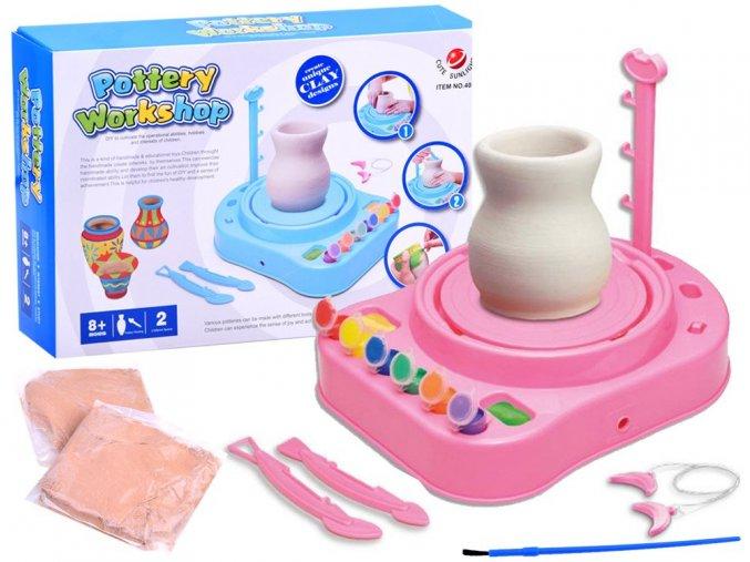 detsky hrncirsky kruh pottery workshop ruzovy