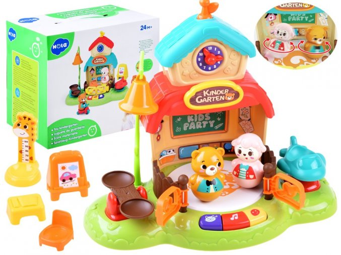 Interaktivni domecek Huile Toys Jeslicky
