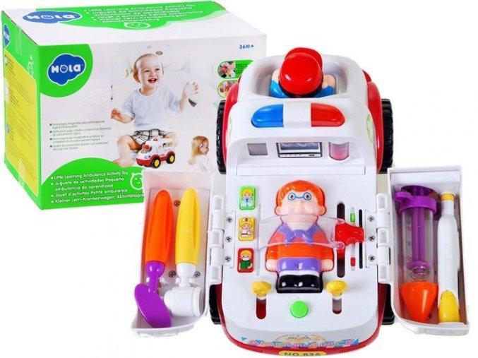 Huile Toys auticko sanitka
