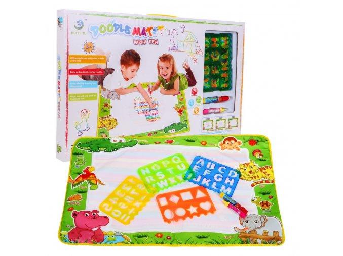 kreslici vodni deka pro deti Doodle Mat
