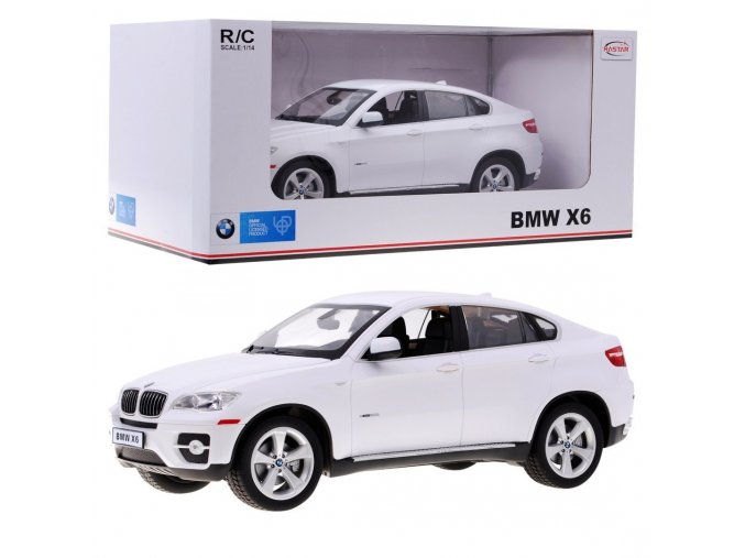 auto na dalkove ovladnai BMW X6 Bile 1 14
