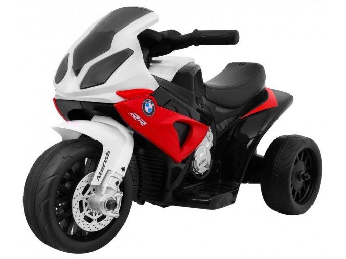 elektrická motorka BMW RR1000 cervena