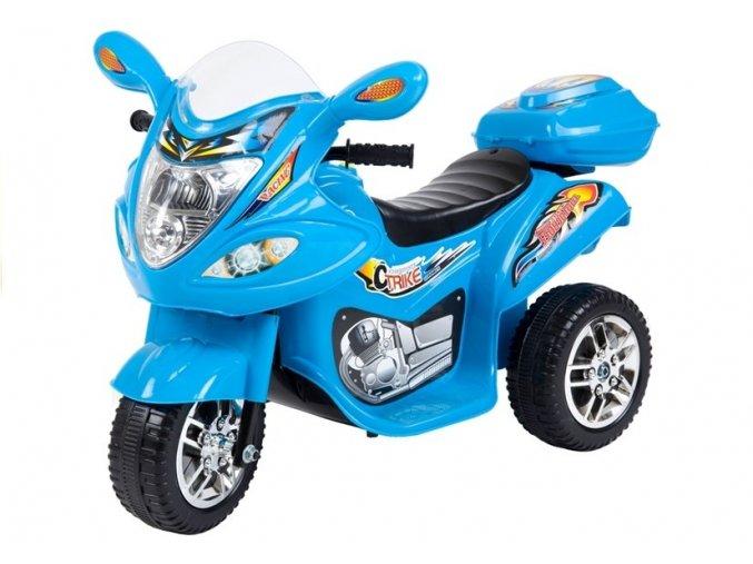 elektricka trikolka Racing Blue 7