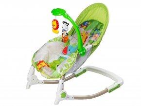 Ecotoys kojenecke lehatko s hudbou