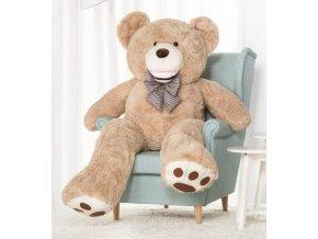 plysovy medved Maty 160 bezovy