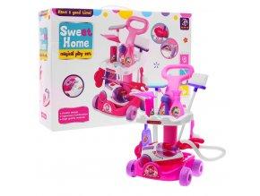 Majlo Toys detsky uklidovy vozik