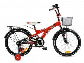 Mexller detsko kolo s vodici tyci 20 cervene