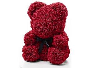 medved z ruzi bordo 40 cm
