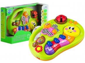 Huile Toys interaktivni pianko housenka