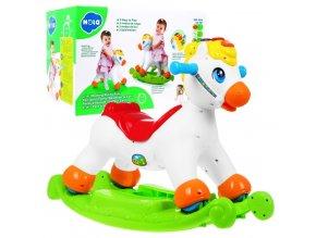 Huile Toys intraktivni konik 2v1 Rocking Horse