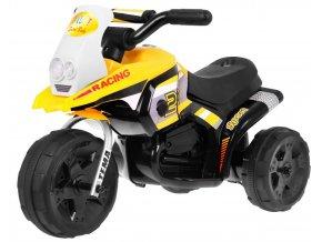 detska mini motorka Sport Run zluta