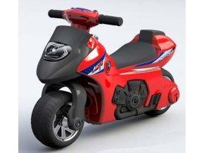 Baby Mix odrazedlo motorka cervena