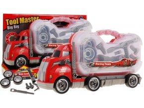 Sroubovaci auticko se zvukem Container Truck