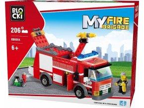 Blocki hasicske auto 206 dilku