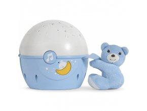 Chicco projektor s melodií Next 2 Stars Medvídek modrý