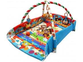 Baby Mix hraci deka zvireci party