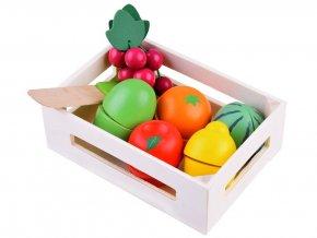Drevene ovoce v bedynce 5