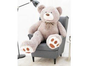 plysovy medved Maty sedy 160 cm