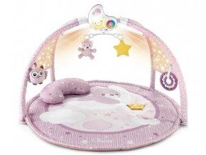 Chicco hrací deka s projekcí a melodiemi růžová