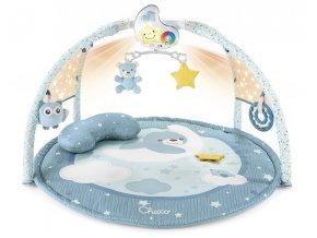 Chicco hrací deka s projekcí a melodiemi modrá